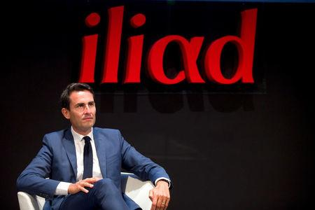 FILE PHOTO: French broadband Internet provider Iliad CFO Thomas Reynaud attends the company's 2015 annual first half results presentation in Paris