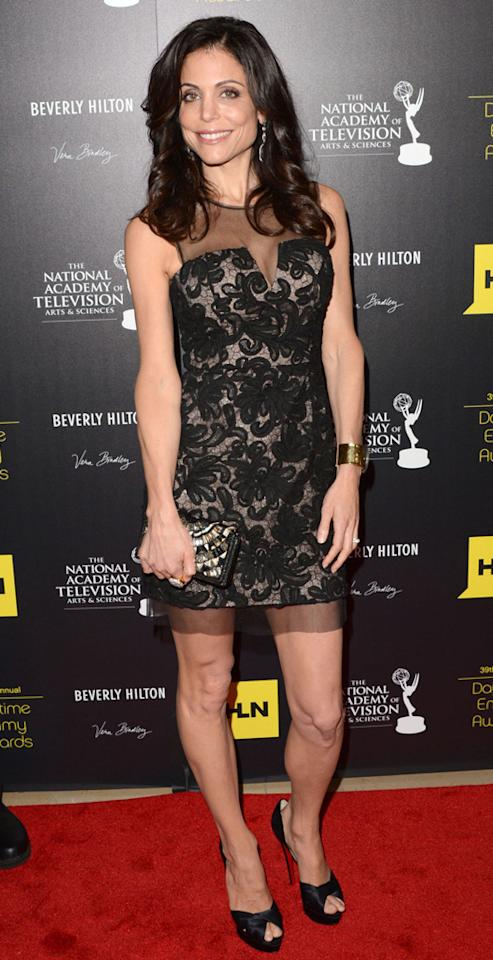 Bethenny Frankel arrives at The 39th Annual Daytime Emmy Awards held at The Beverly Hilton Hotel on June 23, 2012 in Beverly Hills, California.