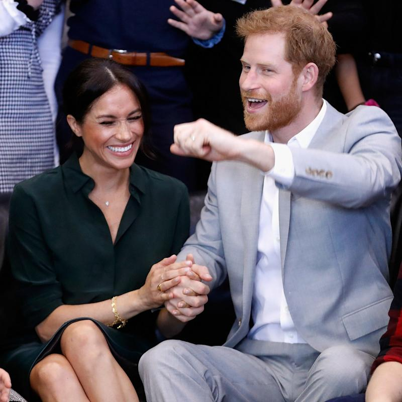 The Duke and Duchess of Sussex have announced they are expecting their first baby next spring - Getty Images Europe