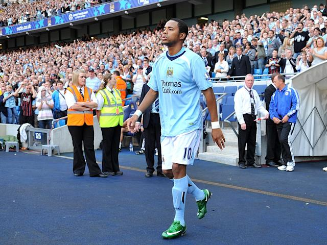 Robinho on his Manchester City debut against Chelsea – but it could have been so different