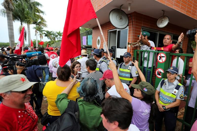 Venezuelan opposition group ends occupation of embassy in Brazil
