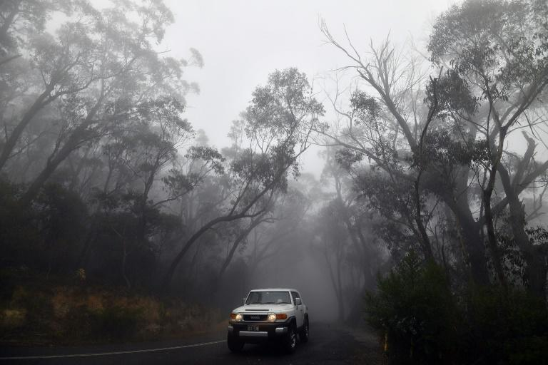 Despite the cool change, authorities warned that the bushfire season is not yet over (AFP Photo/SAEED KHAN)