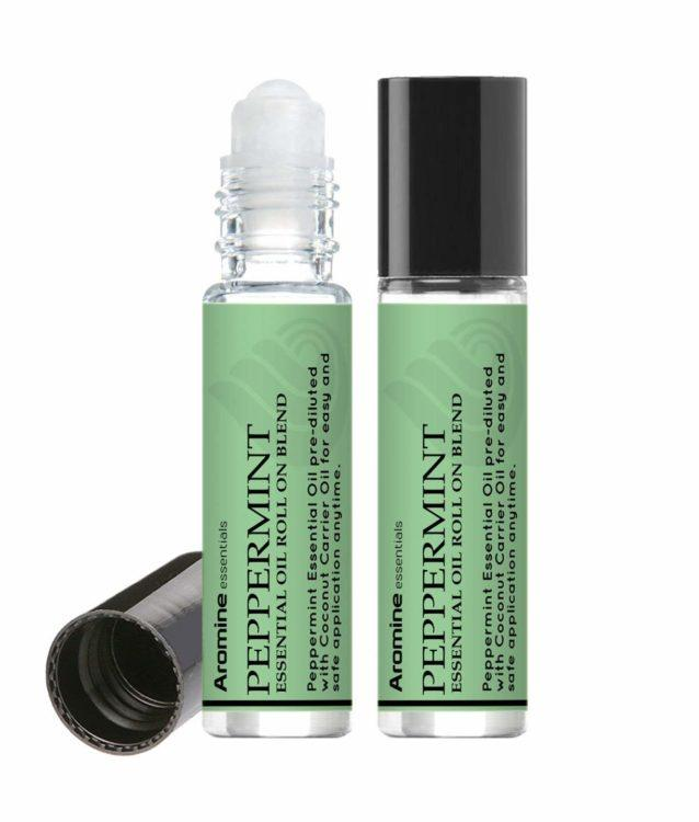 peppermint essential oil roll on