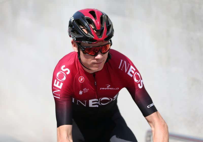 Cycling: Froome among riders cleared to leave UAE after ...