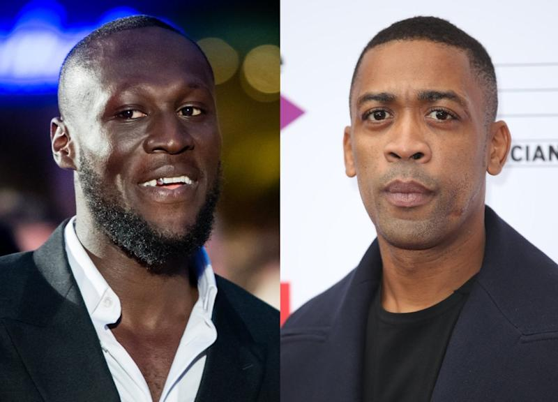 Stormzy and Wiley (Samir Hussein/Mike Marsland/Getty Images)