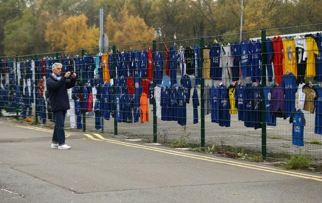 Leicester City Helicopter Crash Tribute Relocation