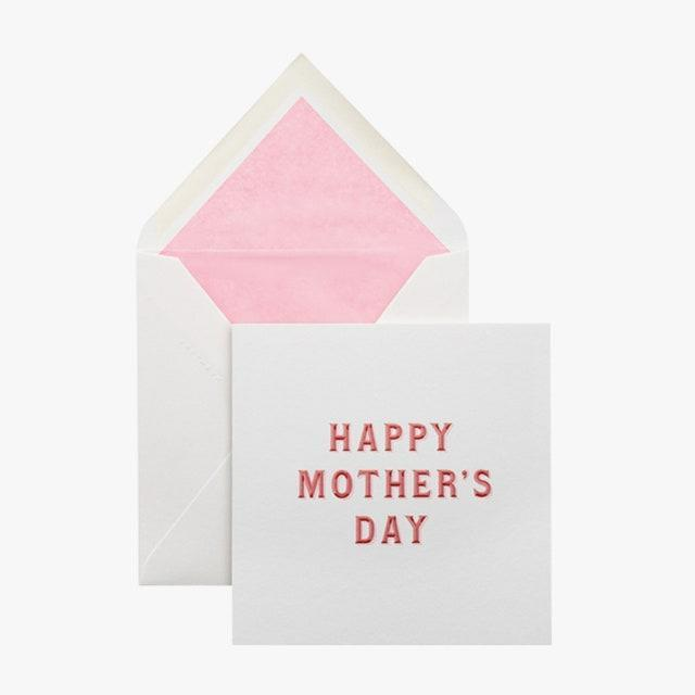 "$19, smythson.com. <a href=""https://www.smythson.com/us/white-typography-mothers-day-card-1026333.html?cgid=43"" rel=""nofollow noopener"" target=""_blank"" data-ylk=""slk:Get it now!"" class=""link rapid-noclick-resp"">Get it now!</a>"
