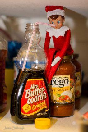 "<p>If you've seen Elf, then you know that <a href=""https://www.youtube.com/watch?v=DS8MegEiKLk"" target=""_blank"">elves love syrup</a>! &nbsp;</p> <p>Source: <a href=""http://www.pinterest.com/pin/29273466301925027/"" target=""_blank"">Pinterest</a></p>"