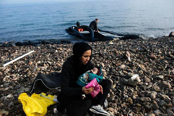 The rush to Europe has fuelled a massive demand for fake IDs among people who have already risked their lives once to reach Greece from Turkey on inflatable boats (AFP Photo/Dimitar Dilkoff)