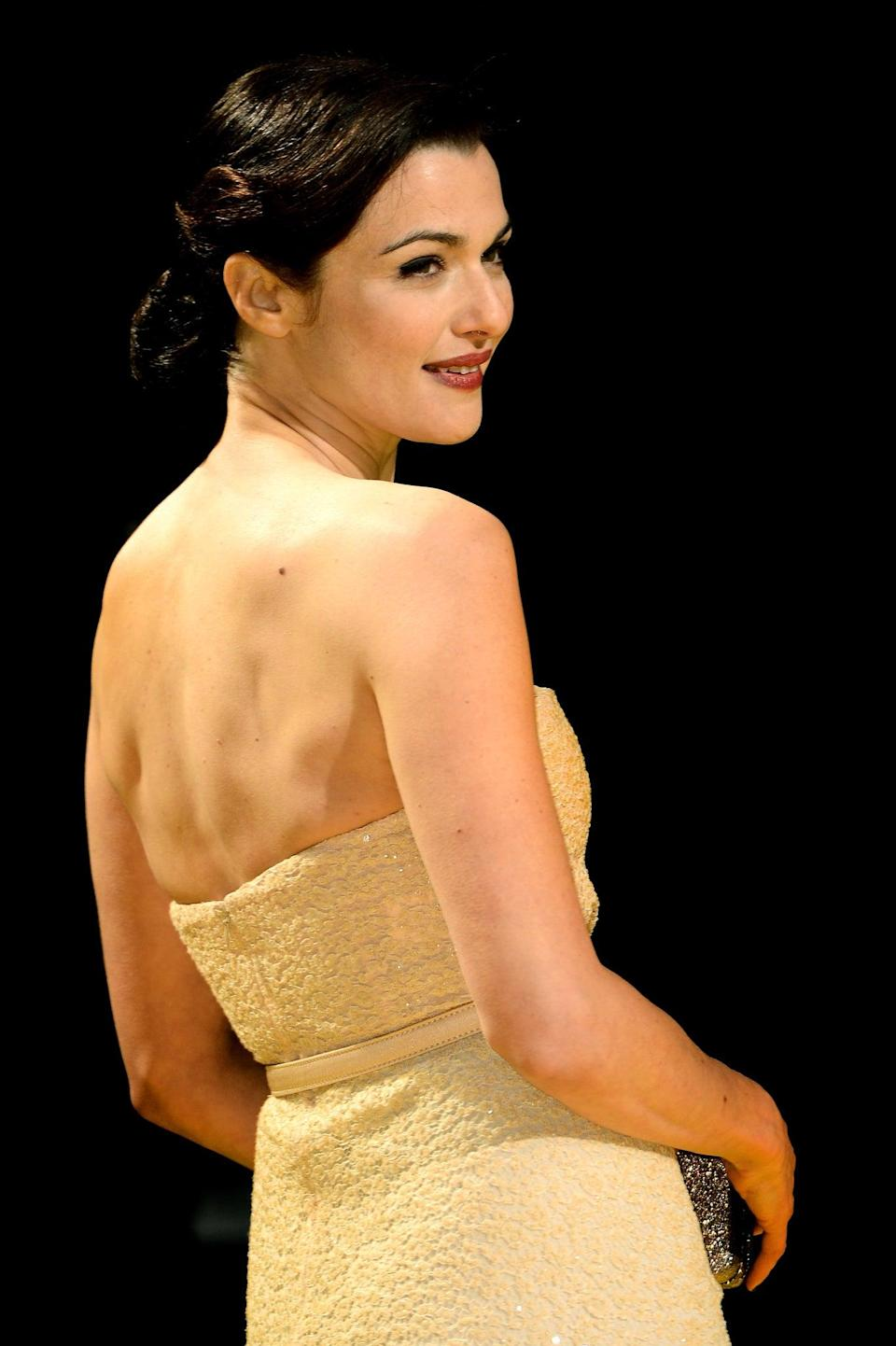 Rachel Weisz at the Oz The Great And Powerful premiereGetty Images