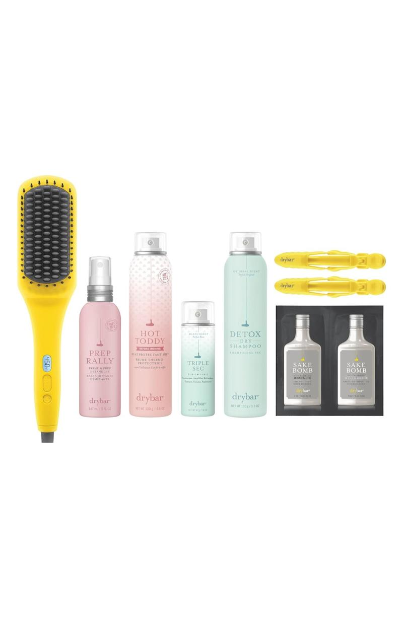 "Get a salon-worthy blowout from home with this Dry Bar kit.&nbsp;<strong><a href=""https://fave.co/32B3zSN"" target=""_blank"" rel=""noopener noreferrer"">Normally $238, get it on sale for $165 during the Nordstrom Anniversary Sale</a>.</strong>"