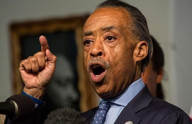 MSNBC's Al Sharpton: Trump Retweeting Video of Supporter Saying 'White Power' Was 'Intentional' (Video)