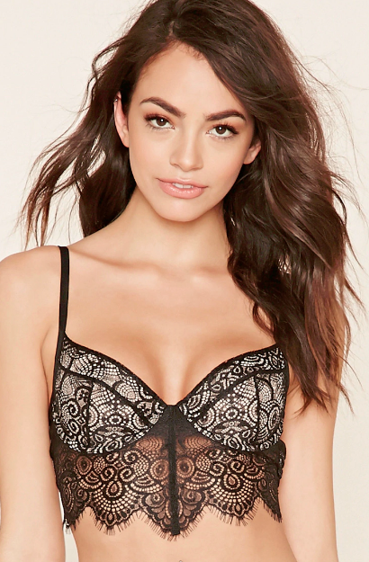 Forever 21 lace bra