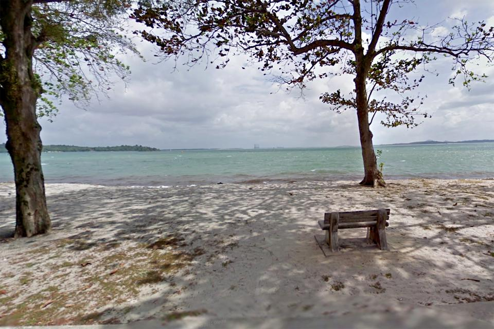 The boy's body was retrieved by SCDF rescuers around 15m away from the shoreline. (PHOTO: Google StreetView screengrab)