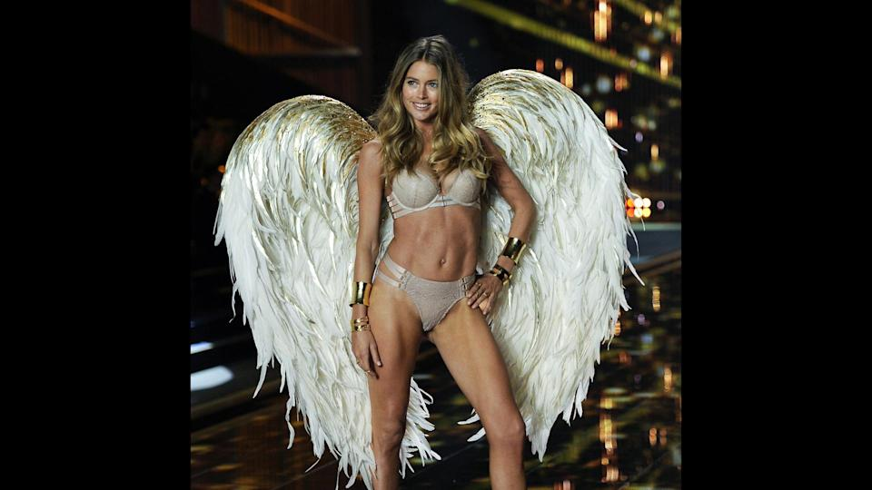 <p>Doutzen Kroes has walked in eight Victoria's Secret Fashion Shows between 2005 and 2014. Kroes was an Angel from 2008 through her retirement in 2015, though she never was selected to wear the Fantasy Bra. The Dutch beauty continues to work as a model, and walked in shows for L'Oreal and Versace in 2017. Forbes estimates that Kroes earned $6 million in 2016, thanks to modeling contracts with L'Oréal and Tiffany & Co.</p>