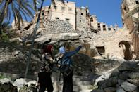 The village of Misfat al-Abriyeen, situated on the dramatic escarpments of Oman's 'Grand Canyon', opened its narrow streets six years ago to foreigners and locals seeking adventure in the deserts and green corners of the Gulf sultanate