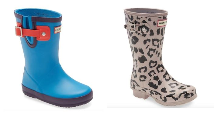 Mini Hunter boots? Yes, really.