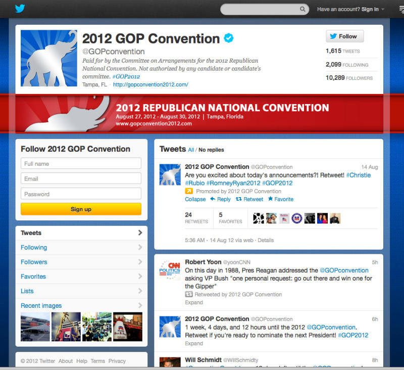 2012 conventions embrace social media openness