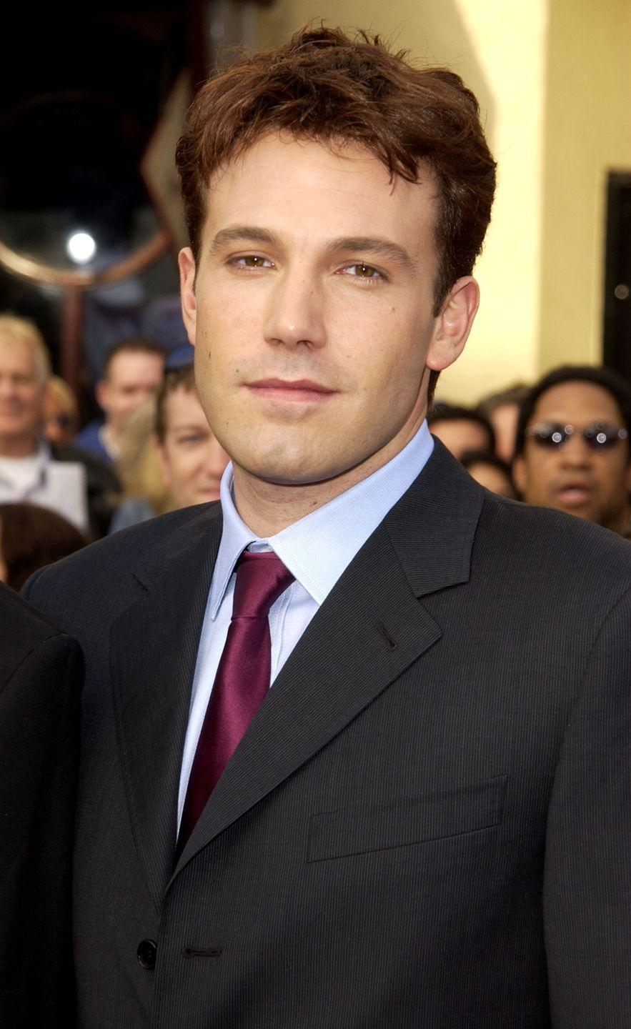 <p>Ben Affleck hasn't mixed up his hairstyle much since his <em>Good Will Hunting </em>days. </p>
