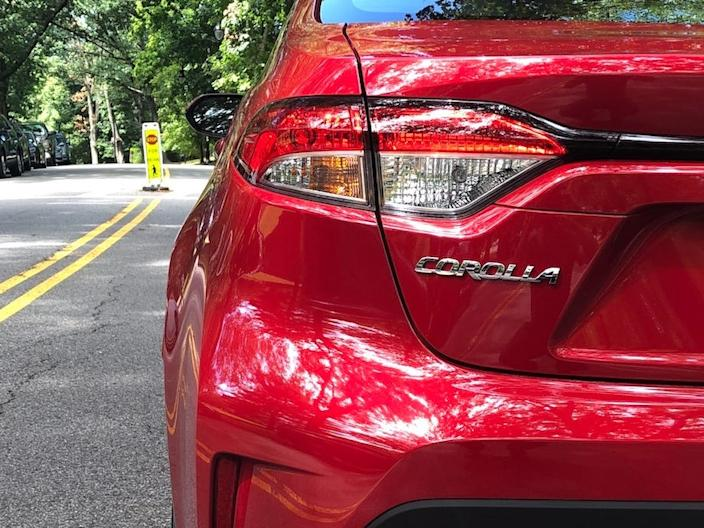 "The Corolla has long been a favored entry-level nameplate. <p class=""copyright"">Matthew DeBord/Insider</p>"