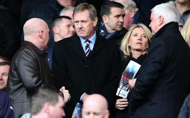 Dave King has been criticised on social media for his non-attendance - PA