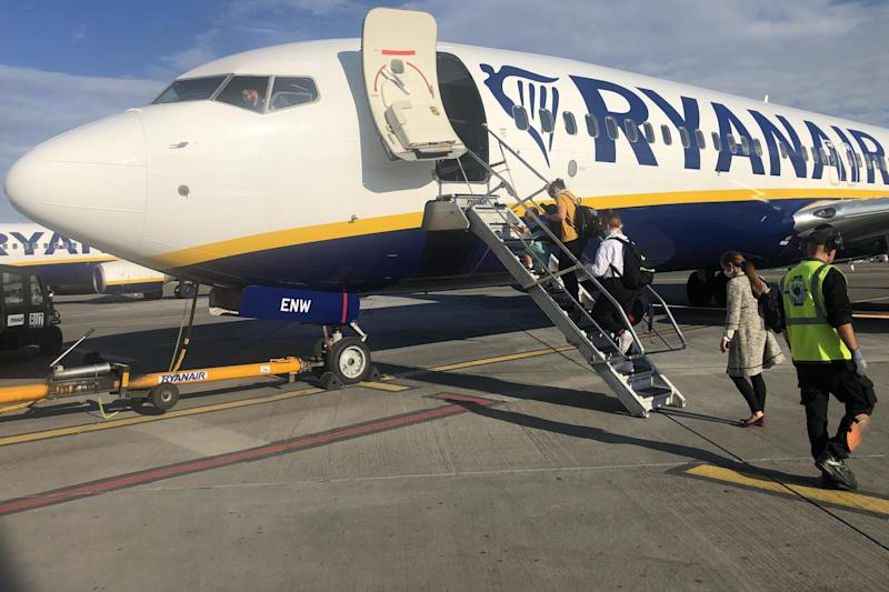 Care port: a Ryanair plane at Dublin airport: Simon Calder