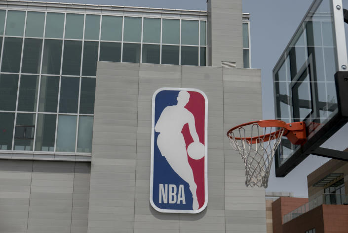 The NBA's facilities in China reportedly featured awful conditions. (Photo by Zhang Peng/LightRocket via Getty Images)