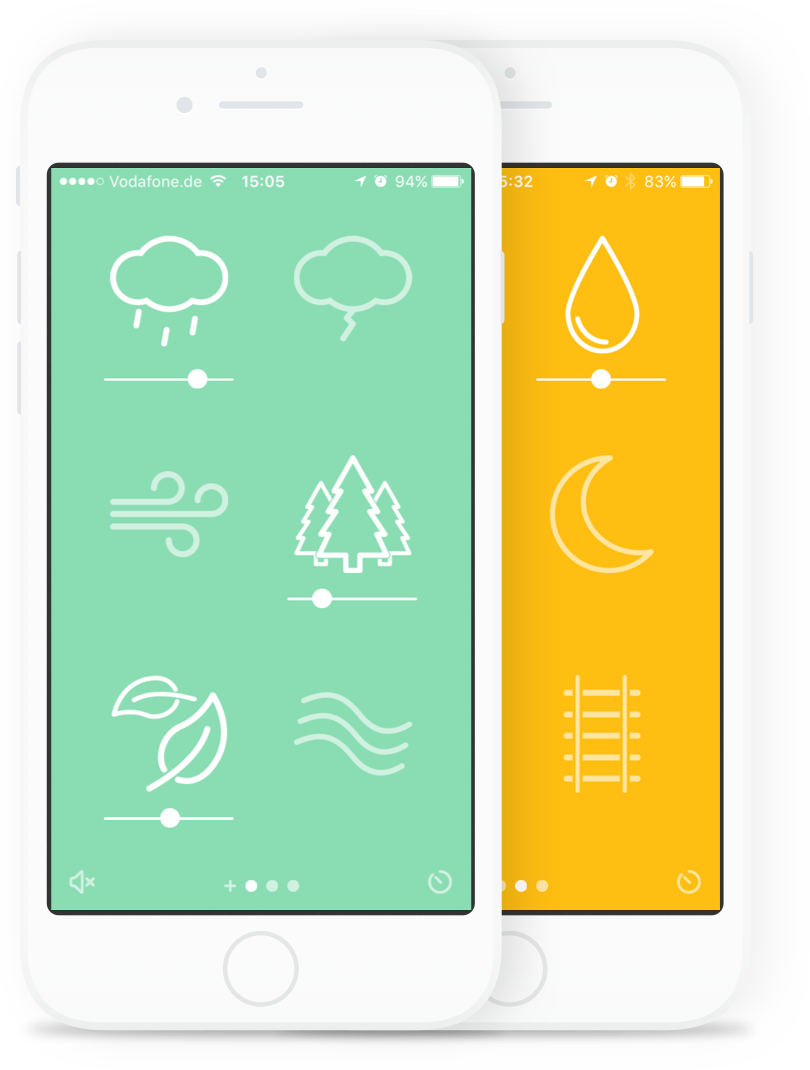 """<p><a href=""""https://www.noisli.com/apps"""" rel=""""nofollow noopener"""" target=""""_blank"""" data-ylk=""""slk:DOWNLOAD NOW"""" class=""""link rapid-noclick-resp"""">DOWNLOAD NOW</a></p><p>Choose from a wide variety of sounds, ranging from traditional waves and rain to help you sleep to the low din of a coffee shop to provide unobtrusive background noise while you're reading or doing work. The free version offers 1.5 hours of streaming per day. We hope you'll sleep longer than that—the Pro tier provides unlimited streaming for $10 a month.</p>"""