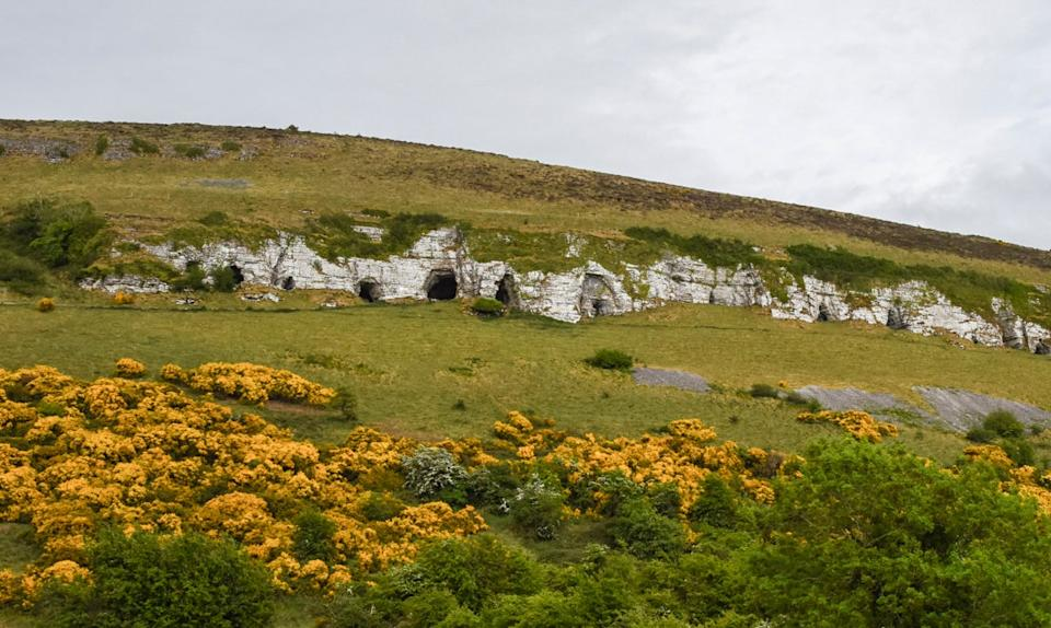 Keshcorran's 16 caves - or portals to hell...Ronan O'Connell
