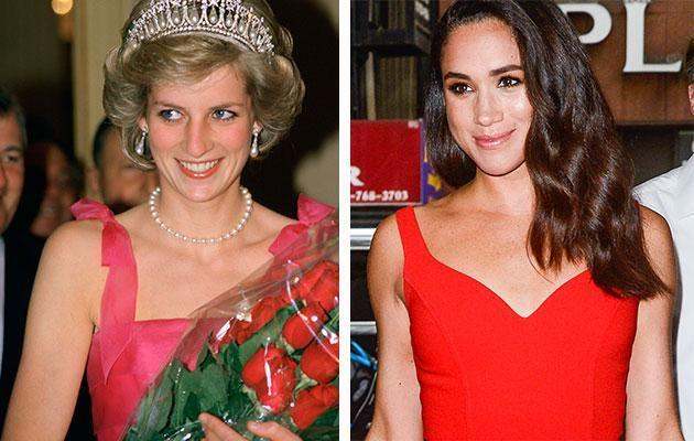 Meghan is following in Diana's footsteps. Photo: Getty