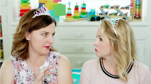 "The funny mothers from ″#IMomSoHard"" are back and have some thoughts on Disney princess movies."