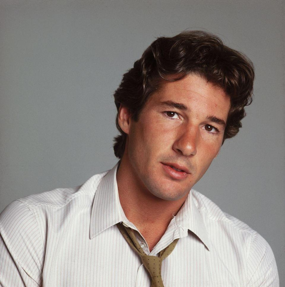 <p>Gere first rose to prominence with his role in <em>American Gigolo</em>.</p>