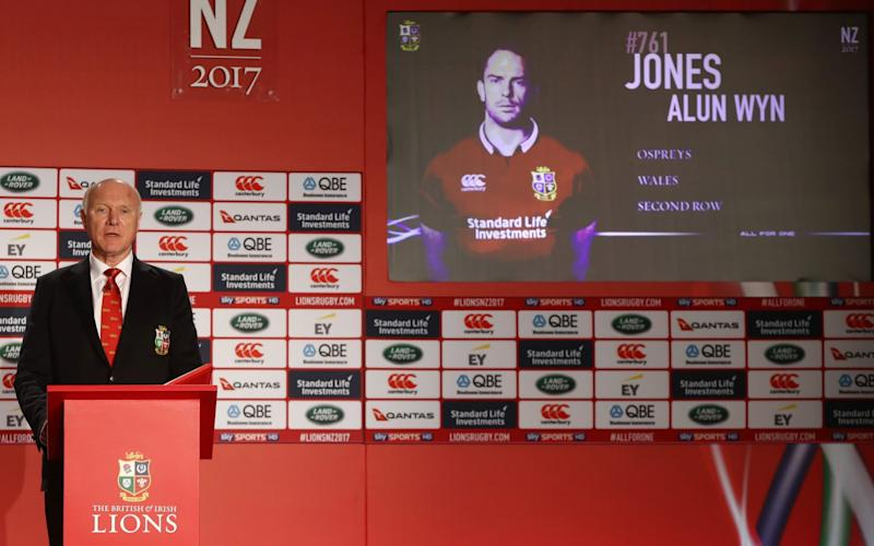 Alun Wyn Jones in British and Irish Lions squad - Credit: Getty Images
