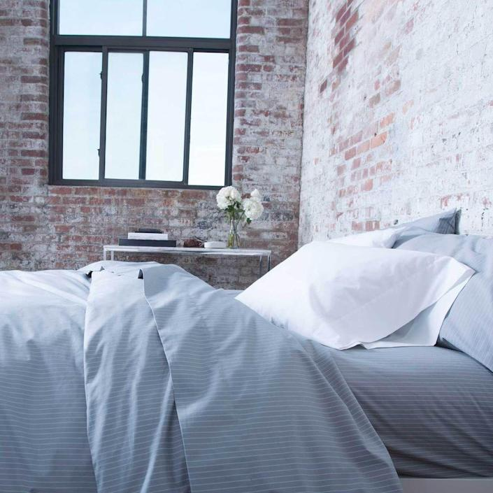 """<p><strong>Brooklinen</strong></p><p>brooklinen.com</p><p><strong>$39.00</strong></p><p><a href=""""https://go.redirectingat.com?id=74968X1596630&url=https%3A%2F%2Fwww.brooklinen.com%2Fproducts%2Fclassic-fitted-sheet-last-call&sref=https%3A%2F%2Fwww.womenshealthmag.com%2Flife%2Fg35699619%2Fbrooklinen-sheets-sale%2F"""" rel=""""nofollow noopener"""" target=""""_blank"""" data-ylk=""""slk:Shop Now"""" class=""""link rapid-noclick-resp"""">Shop Now</a></p><p><strong><del>$49 — $59</del> $39 —$48 (20% off)</strong></p><p>Let's be honest: You can never have too many fitted sheets—especially on those occasions when you spill some coffee or vino on your bed.</p>"""