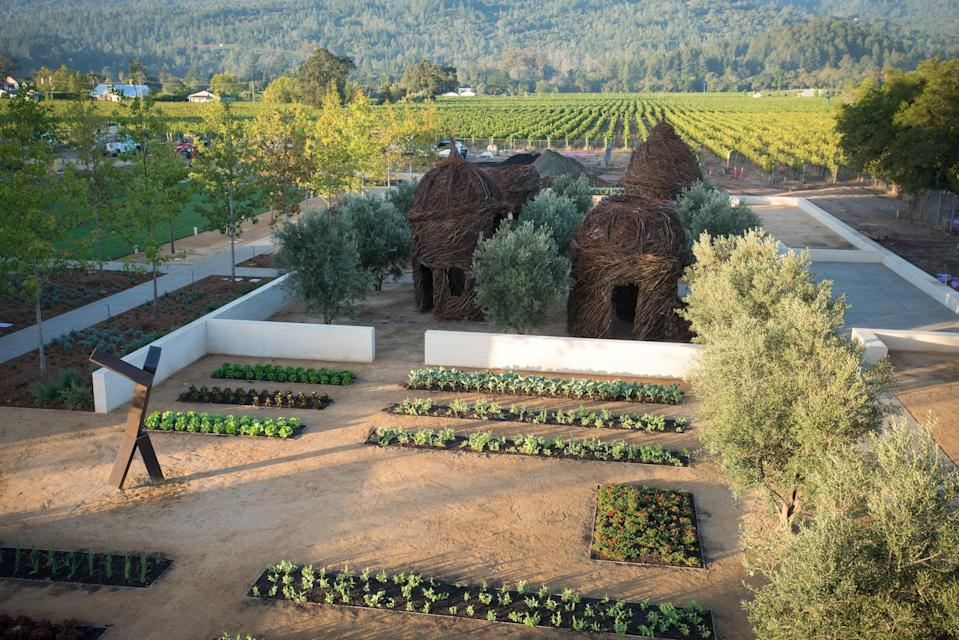 <p><strong>Give us an overview.</strong><br> Your typical wine tasting room this is not. Located at the base of Napa's majestic Mayacama Mountains, Hall St. Helena sits on 33 acres that celebrate wine and art. More than 35 pieces of contemporary art decorate the winery, with works from internationally renowned artists like Patrick Dougherty and Lawrence Argent, and the vineyard doubles as a museum.</p> <p><strong>So who's there?</strong><br> Highway 29 wineries can be full of tourists, but Hall draws frequent visitors who are often returning guests, as well as locals from the Napa Valley and greater Bay Area. Dress is wine country chic, like light dresses and fancy sandals, and slacks with a collared shirt.</p> <p><strong>How are the drinks?</strong><br> Craig and Kathryn Hall helped set the standard for Bordeaux-style wines in modern-day Napa. Cabernet and Merlot are their most well-known varietals. Tastings start at $40, but go up to $150 for the ultimate Cabernet tasting, which includes barrel tastings and cheeses.</p> <p><strong>Do they have food too?</strong><br> Some of the higher-end tasting experiences come with cheese and crackers, but you'll need more than that to sop up all that cab. Book lunch before or after at a restaurant in nearby downtown St. Helena.</p> <p><strong>Did the staff do you right?</strong><br> The pourers and guides here know Napa well—from details on varietals to the aging process of their wines, or Napa area history. They're also happy to tell you about the 150-year-old Hall property.</p>