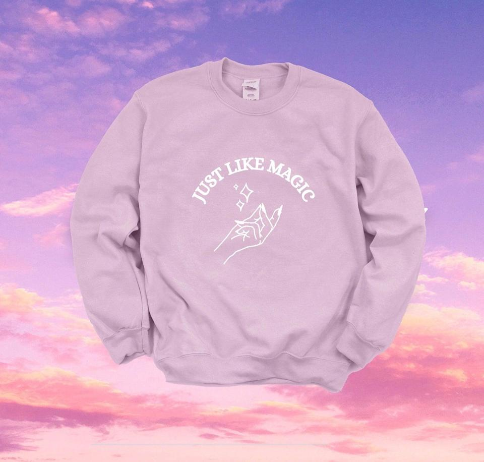 <p>If they absolutley loved <b>Positions</b> and can relate to every track, get them the <span><b>Positions</b> Sweatshirt</span> ($30). It comes in a variety of colors, so choose their favorite one!</p>