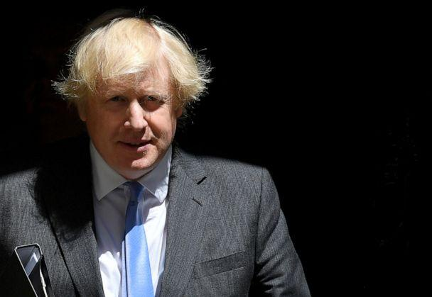 FILE PHOTO: British Prime Minister Boris Johnson leaves 10 Downing Street in London on June 23, 2020, amid the coronavirus pandemic. (Toby Melville/Reuters)