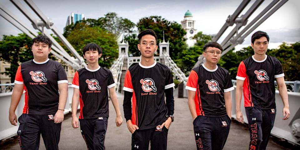 Team SMG's new Valorant roster. (Photo: Team SMG)