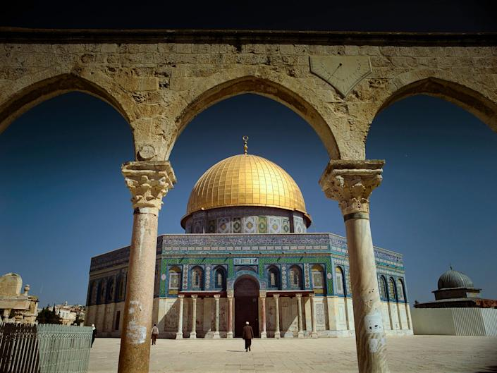 The Dome of the Rock, one of the oldest and holiest sites in Islam