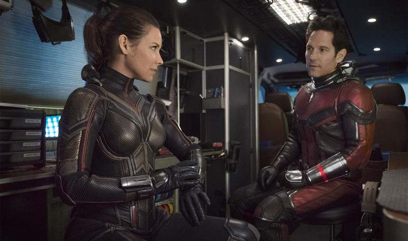 An image from one of the best Marvel movies Ant-Man and the Wasp