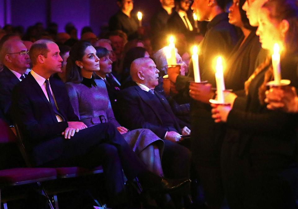 <p>One of the Duke and Duchess of Cambridge's first public engagements of the year was the UK Holocaust Memorial Day Commemorative Ceremony, which took place at Methodist Central Hall in London on January 27, 2020. Holocaust Memorial Day takes place annually on the anniversary of the liberation of Auschwitz-Birkenau, and the event honors survivors of the Holocaust, Nazi persecution, and subsequent genocides.</p>