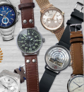 """<p><strong>Watch Gang </strong></p><p>watchgang.com</p><p><strong>$49.99</strong></p><p><a href=""""https://go.redirectingat.com?id=74968X1596630&url=https%3A%2F%2Fwatchgang.com%2Fsubscribe.php%3Fgift%3Dyes%26AFID%3Dpj%26SID%3D21181-2-303962%26XID%3D74968X1525077Xaa50858e390f5ab2085f14d48131679d&sref=https%3A%2F%2Fwww.goodhousekeeping.com%2Fholidays%2Ffathers-day%2Fg21274147%2Flast-minute-fathers-day-gifts%2F"""" rel=""""nofollow noopener"""" target=""""_blank"""" data-ylk=""""slk:Shop Now"""" class=""""link rapid-noclick-resp"""">Shop Now</a></p><p>You could shell out for a fancy watch, or shower him with a new one every month from Watch Gang. Choose the price range that works for your budget and the style pros will handle the rest.</p>"""