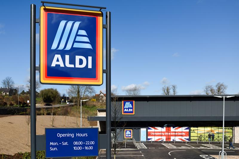 Aldi opened in the Peak District in the market and tourist attraction town of Bakewell.