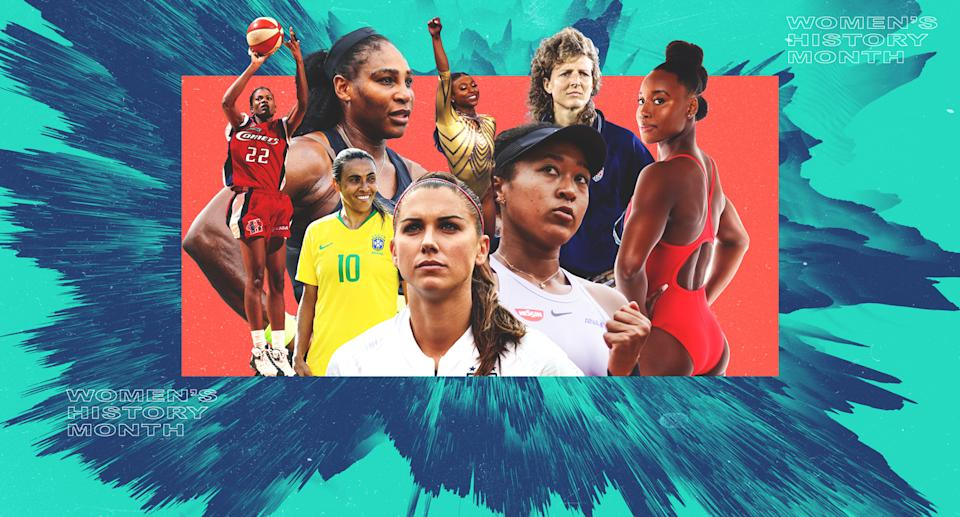 Women's History Month on Yahoo Sports