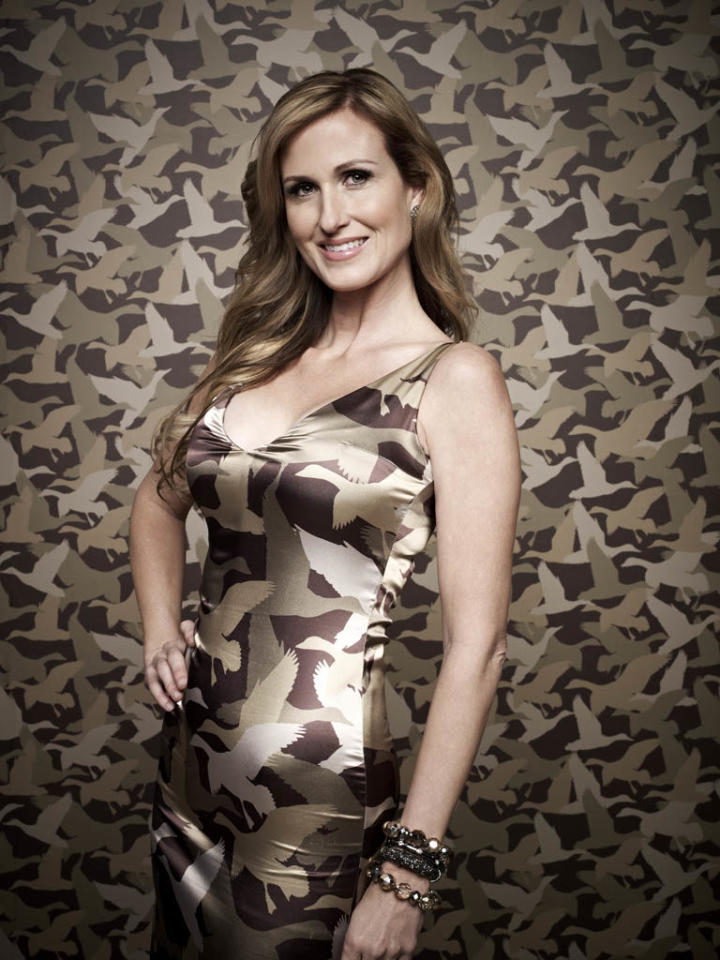 "Korie Robertson of the A&E series ""Duck Dynasty."""