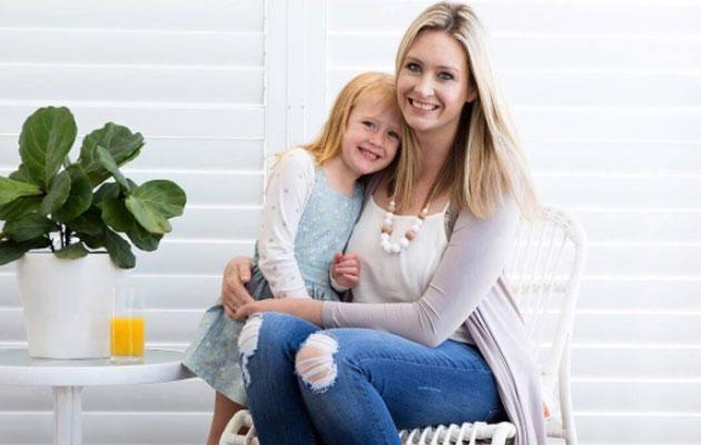 After having Blair, now three, Bronwyn went on to fall pregnant again without using the techniques - and had a boy! Source: Supplied