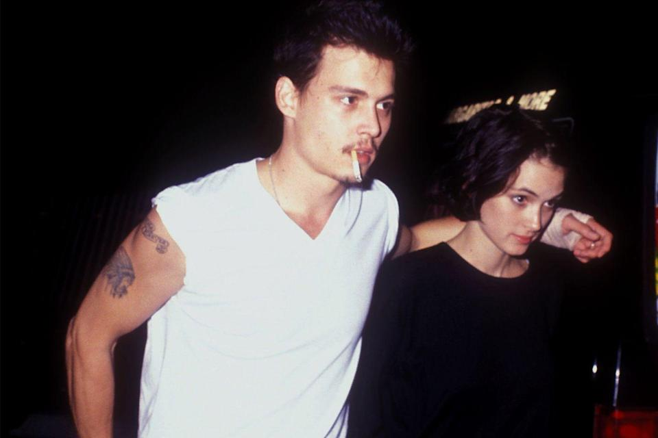 """<p>Remember when Johnny Depp and Winona Ryder used to date? Well, the <em>Pirates of the Caribbean</em> actor showed his affection for her by having """"Winona Forever"""" inked on his bicep. Sadly, they didn't last that long. Depp had his ode to Winona changed to say """"Wino Forever."""" Hopefully he really does like to drink wine!</p>"""