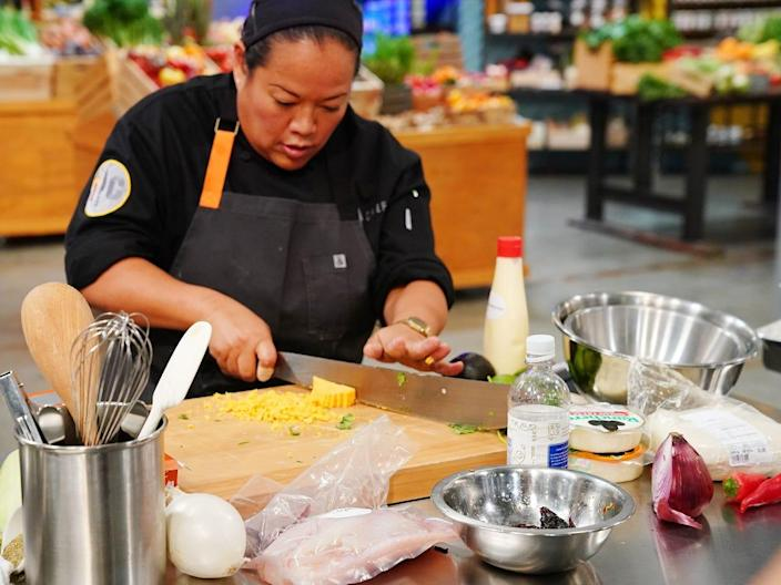 """Competition shows like """"Top Chef"""" are no joke. <p class=""""copyright"""">Nicole Weingart/Bravo/NBCU Photo Bank via Getty Images</p>"""