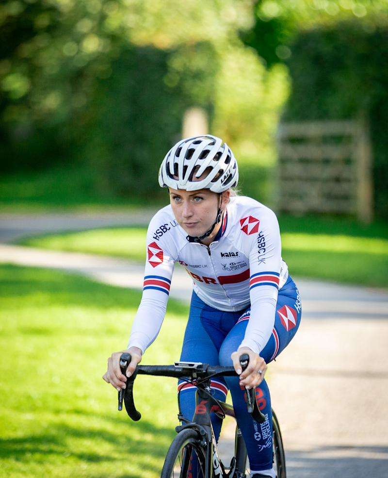 Kenny has continued to be an inspiration throughout her cycling career