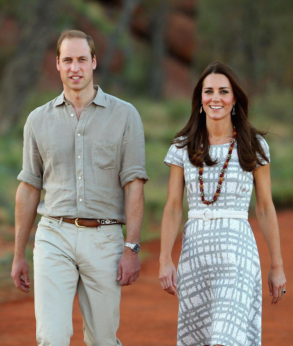 <p>Kate wore it again while visiting Ayers Rock in Australia with Will. </p>